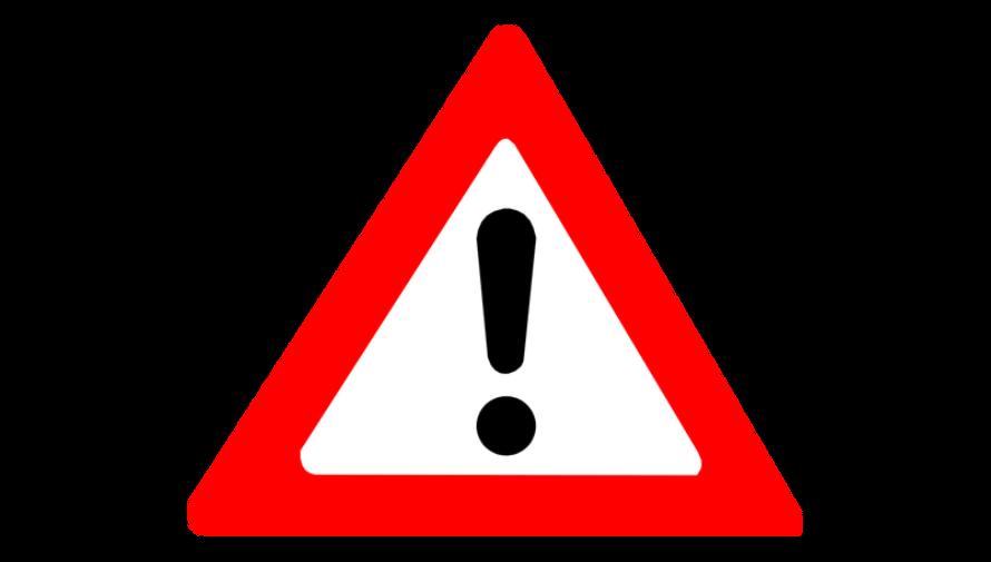 ikona grafiki ostrzeżenia