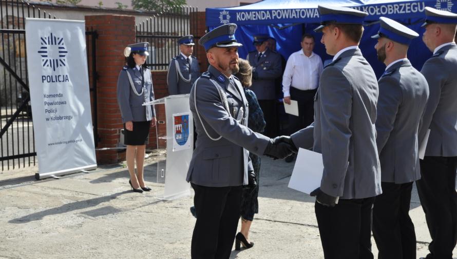 Uroczysta akademia z okazji Święta Policji