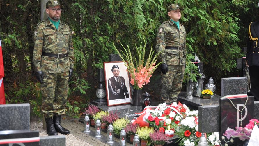 Uczczono pamięć śp. płk. SG Mieczysława Zygmunta