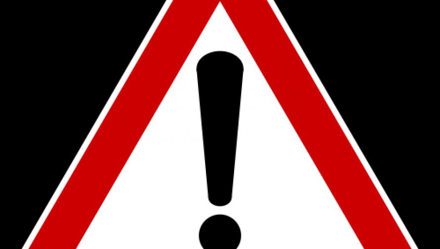 Ostrzeżenie o zagrożeniu przy prowadzeniu prac polowych - Kliknięcie w obrazek spowoduje wyświetlenie jego powiększenia