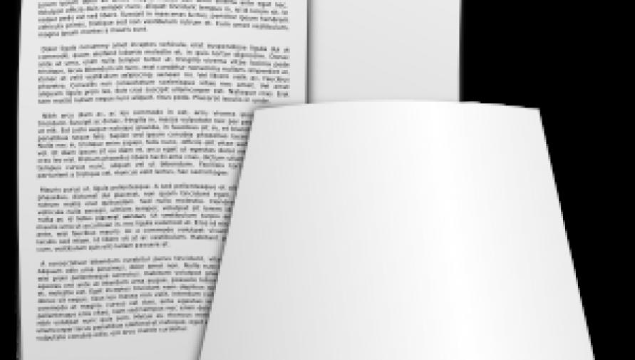 kartki papieru - grafika openclipart.org - Kliknięcie w obrazek spowoduje wyświetlenie jego powiększenia