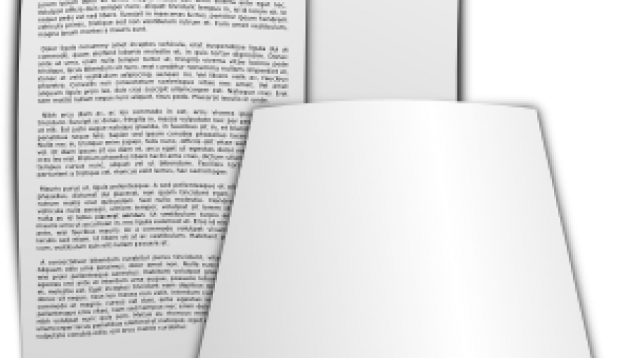 plik kartek papieru - grafika openclipart.org - Kliknięcie w obrazek spowoduje wyświetlenie jego powiększenia
