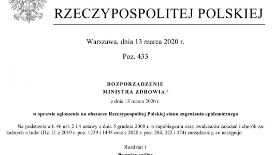 winieta Dziennika Ustaw - Kliknięcie w obrazek spowoduje wyświetlenie jego powiększenia