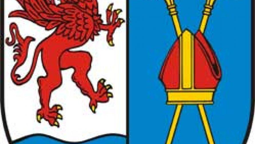 herb Powiatu Kołobrzeskiego - Kliknięcie w obrazek spowoduje wyświetlenie jego powiększenia